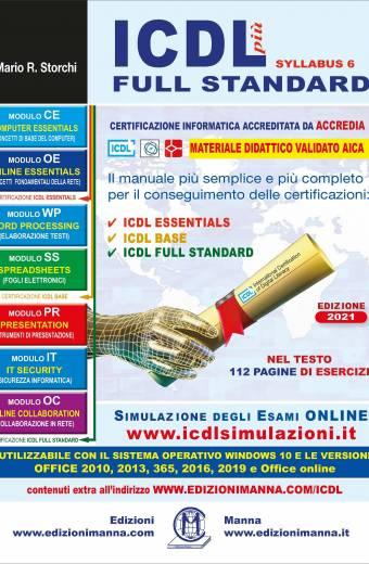 ICDL più Full Standard 2021 - Copertina